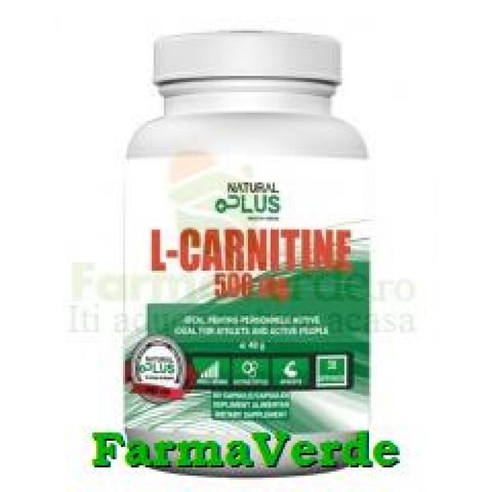 L-Carnitina 500 mg 100 capsule Natural Plus