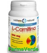 L-CARNITINA 500mg 30cps NOBLESSE NATURAL