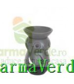 Lampa Candela Bufnita Negru Ceramica Vitos