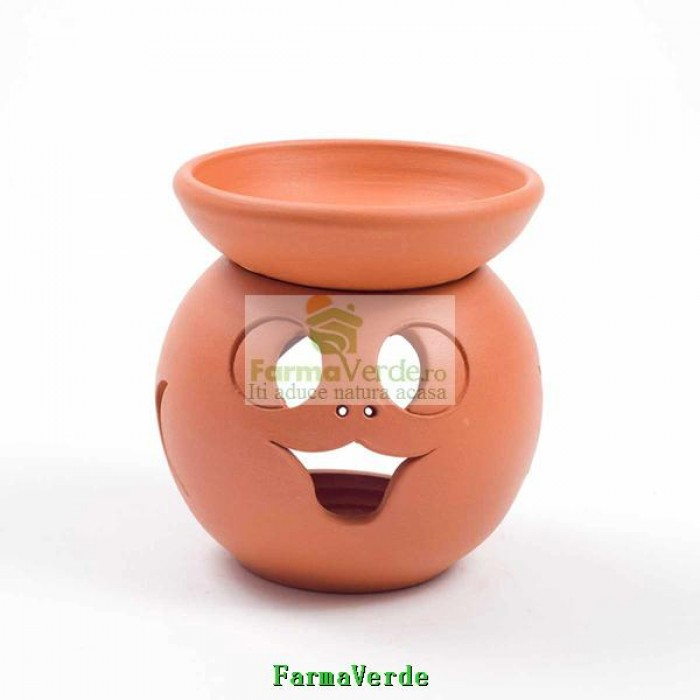 Lampa Candela Dovleac Maro Ceramica Vitos
