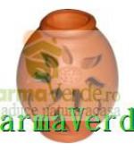 Lampa Candela Flori Maro Ceramica Vitos