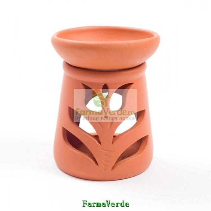 Lampa Candela Lalea Maro Ceramica Vitos