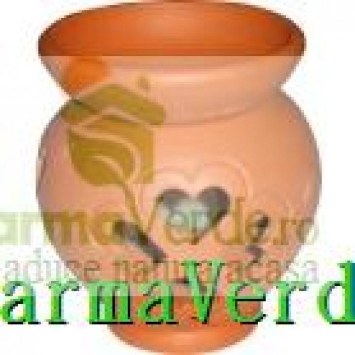 Lampa Candela Trifoi Maro Ceramica Vitos
