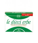 LE DIECI ERBE -10 Plante Colon Cleanse 40 tablete Esitalia