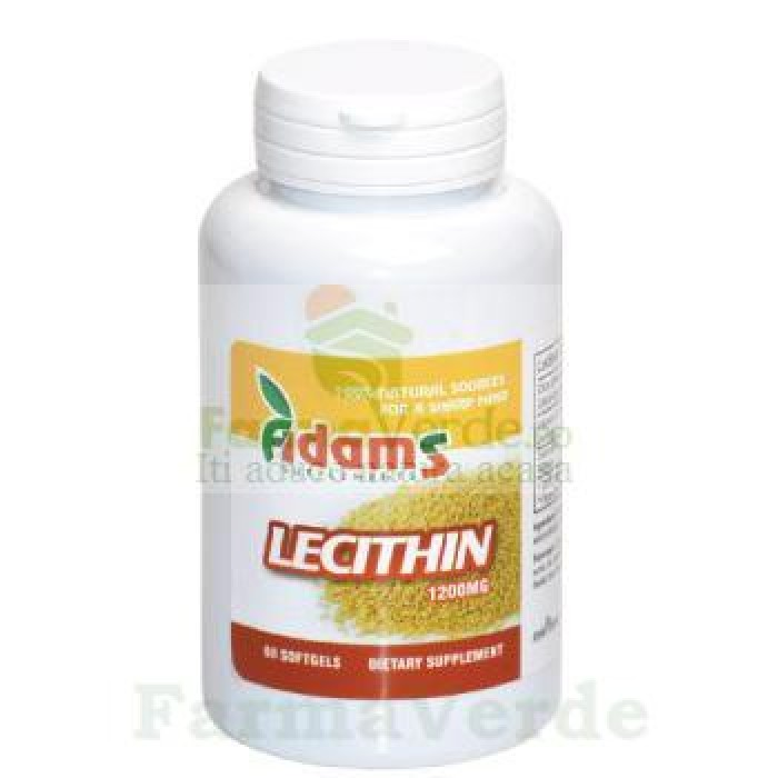 Lecitina 1200mg 30 capsule Adams Vision