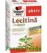 Doppelherz Aktiv Lecitina + Vitamina B + Vitamina E 40 capsule
