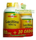 OFERTA! Lecitina 1200 mg 80 cps + 30 cps GRATUIT! Walmark