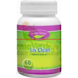 Liv Clean 60 tablete Indian Herbal