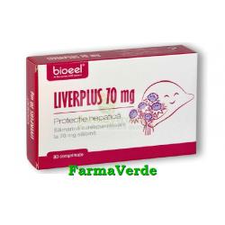 Liverplus 70 mg 80 comprimate Bioeel