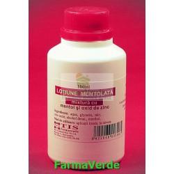 Mixtura Lotiune Mentolata Mentol si Zinc 100 ml TIS Farmaceutic