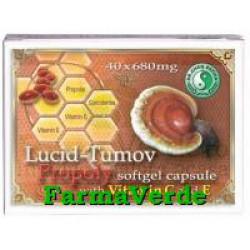 LUCID-TUMOV +PROPOLIS 40 capsule Mixt Com Dr Chen Patika
