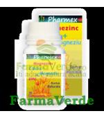 MAGNEZINC Magneziu, Calciu, Zinc 30 cpr Pharmex