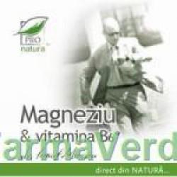 Magneziu & Vitamina B6 30 capsule Medica ProNatura