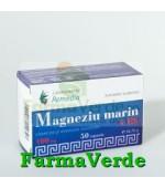 Magneziu Marin 100 mg + Vitamina.B6 50 capsule Remedia