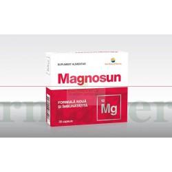 Magnosun Magneziu 30 capsule Sun Wave Pharma