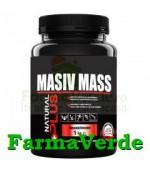 Masiv Mass 1 KG (Vanilie, Ciocolata, Capsuni, Banane) Natural