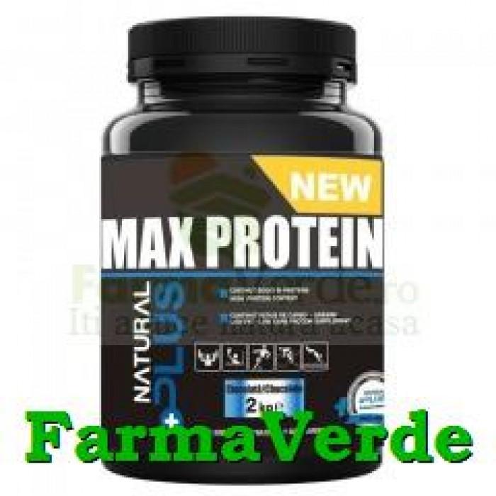 Max Protein 600 gr (Banane,Capsuni,Ciocolata,Vanilie) Natural