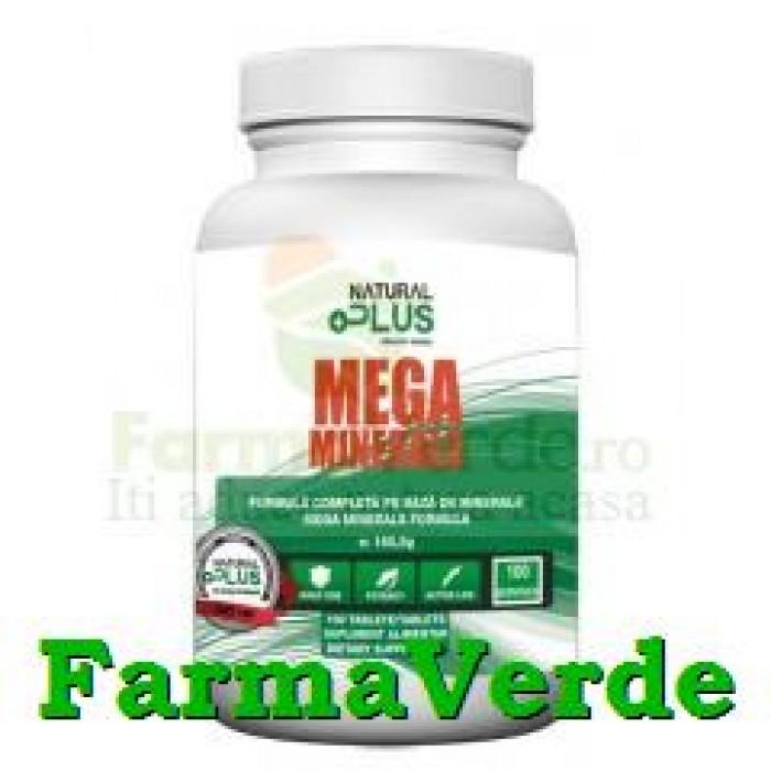 Mega Minerale 100 comprimate Natural Plus