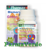 MEMORY CARE Gingko Biloba 60 cpr Pharmex