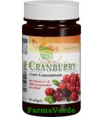 Extract de merisor afin rosu 90 capsule gelatinoase Vitaking