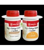 VF Mg+Ginkgo Biloba+Lecitina 30 cpr 1+1 GRATIS! Dacia Plant