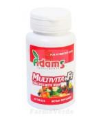 Multivita+Fe 14 Vitamine si Minerale 90 tablete Adams Vision