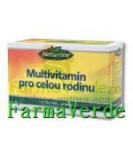 Multivitamine Intreaga Familie 30Cpr Naturline Walmark