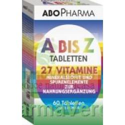 Multivitamine-Multiminerale A-Z 60 Tb Abo Pharma