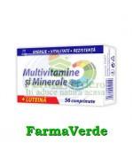 Zdrovit Multivitamine si minerale + Luteina 56 cpr