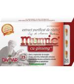Extract Purificat de Rasina Mumie cu Ginseng 30 capsule Damar
