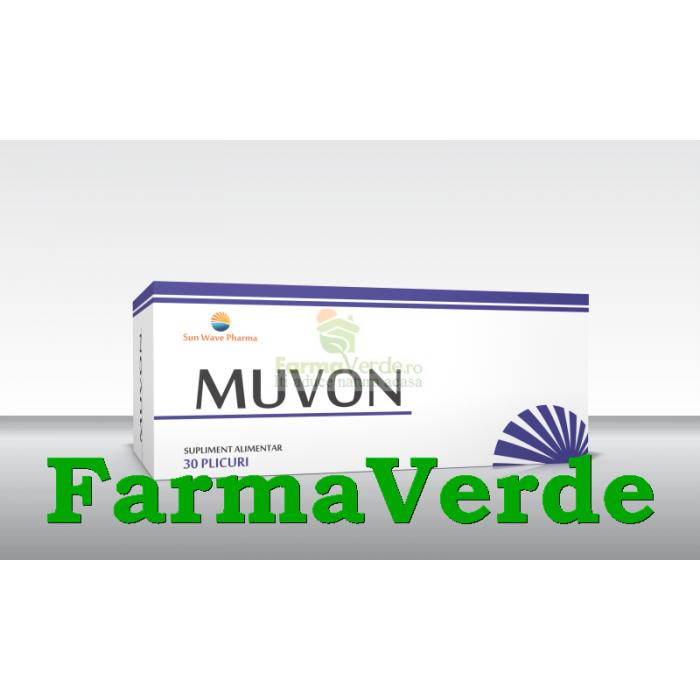 Muvon Peptide de Colagen 30 plicuri Sun Wave Pharma