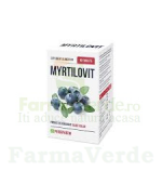 MYRTILOVIT Recomandat diabeticilor 60 tablete Quantum Pharm