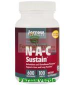 N-A-C SUSTAIN 100 tablete cu eliberare prelungita Jarrow Secom