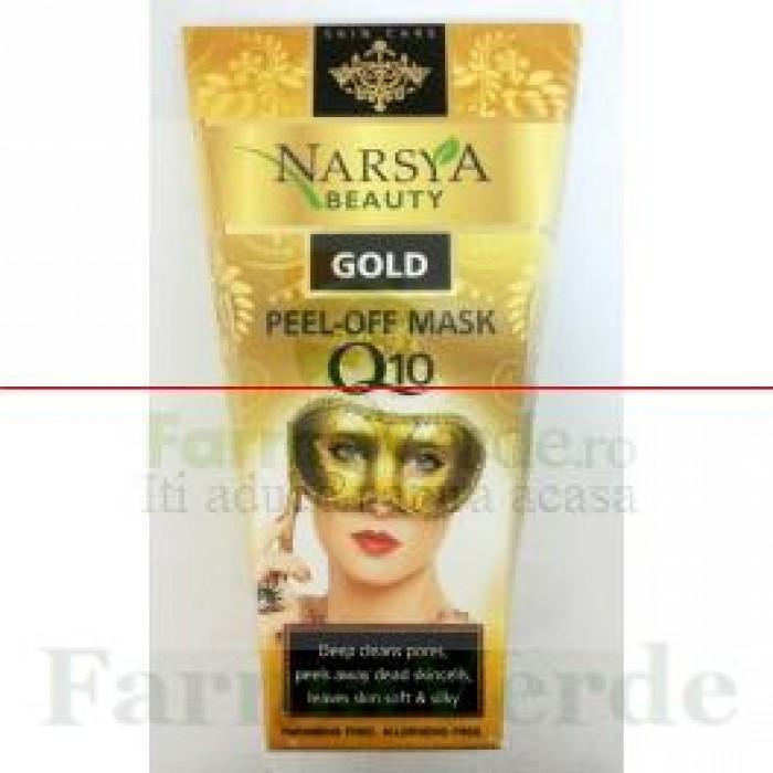 NARSYA BEAUTY Masca peel-off antirid cu coenzima Q10 BGA53
