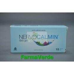 Biofarm Nervocalmin Nervozitate 15 capsule moi