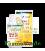 NEUROACTIV Lecitina 1200 mg 50 capsule Pharmex