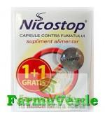 OFERTA!! Nicostop 30 cps 1+1 GRATIS! contra fumatului Quantum