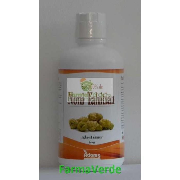 Tahitian Noni Organic aroma naturala 946 ml Adams Vision