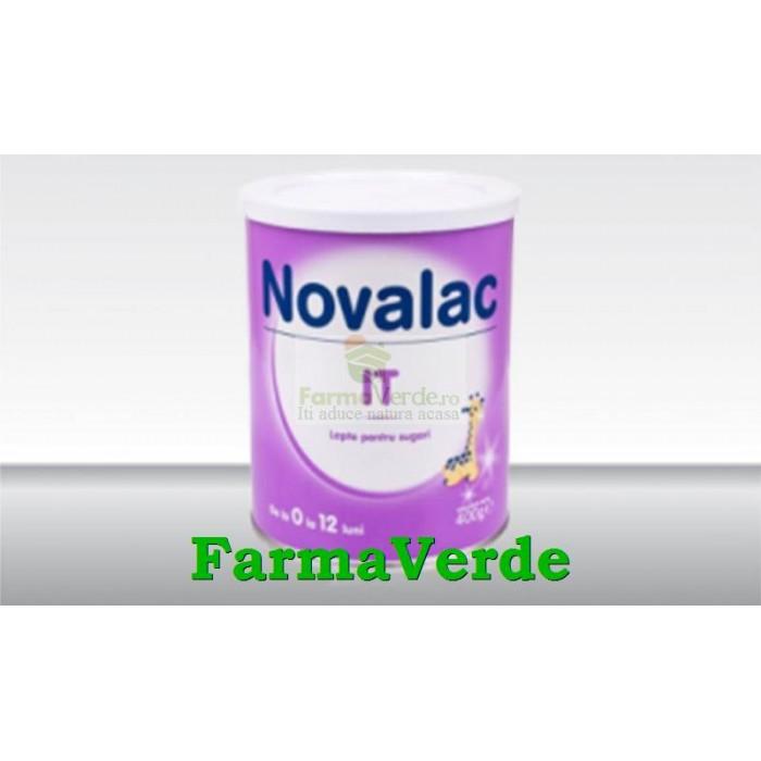 Novalac IT Lapte praf sugari de la 0 la 12 luni 400 gr Sun Wave