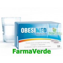 NOU! OBESIMED pierdere in greutate 135cps Fitterman Pharma