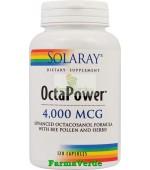 OctaPower 4000mcg Oxigenare Celulara 120 cps Solaray Secom