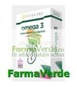 Omega 3 Ulei de Somon 30 capsule Vita Care