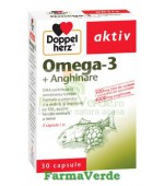 Doppelherz Aktiv Omega 3 + Anghinare 30 capsule