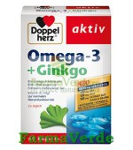 Doppelherz Aktiv Omega-3 + Ginkgo 60 capsule