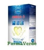 Omega 3 Ulei Pur de Peste 80 capsule Lysi Saga Sanatate