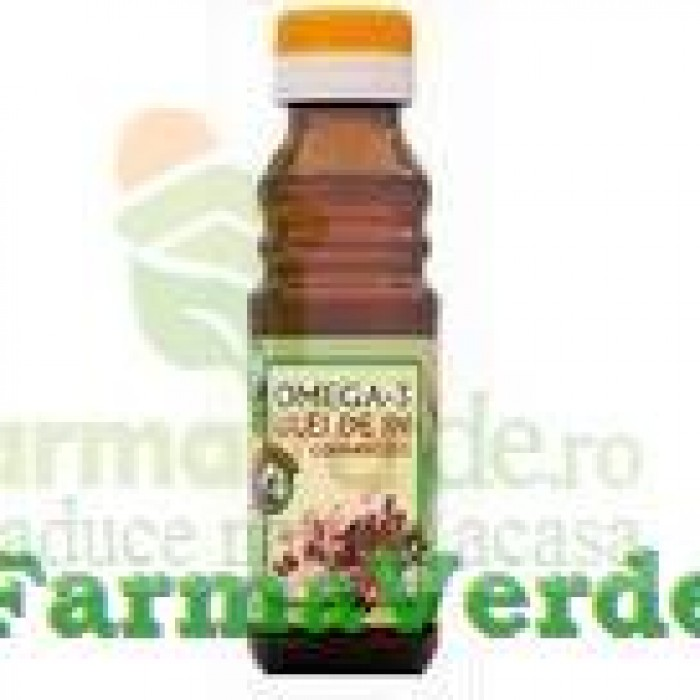 Omega 3 - Ulei de In 100 ml Quantum Pharm