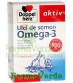 Doppelherz Aktiv Omega 3 Ulei de somon 120 capsule