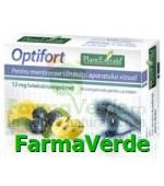 OPTIFORT 30 tablete Pentru Sanatatea Ochilor Plantextrakt