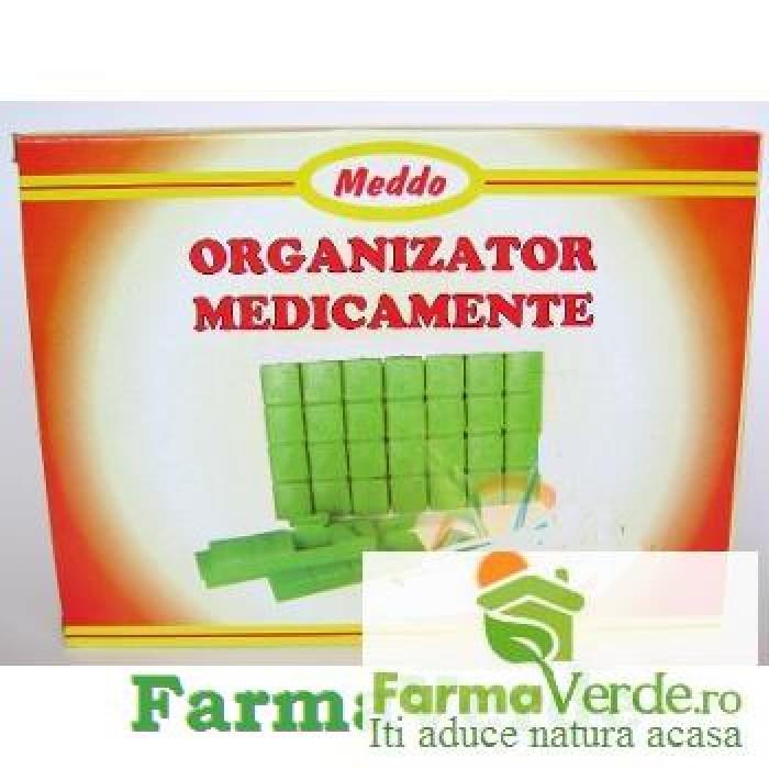 Organizator Medicamente Saptamanal Meddo