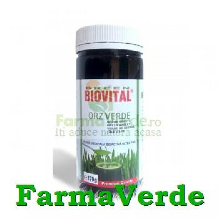 Biovital Orz Verde Pulbere 100 gr General